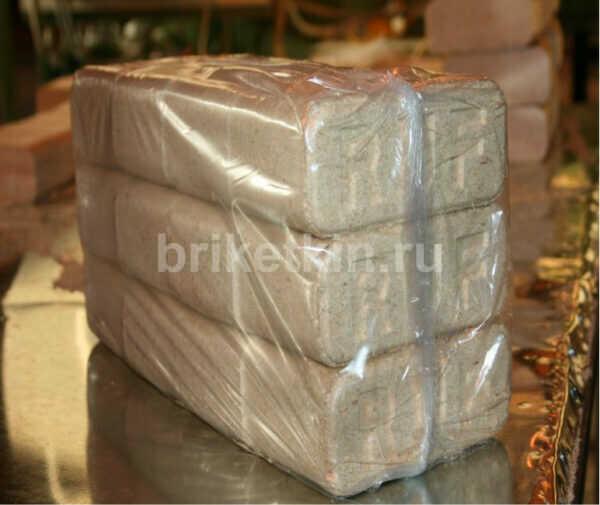 от Брикеткина топливные брикеты упаковка 12 штук